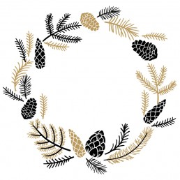 Noisette Christmas Wreath