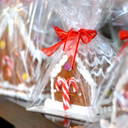 Gingerbread House Wrapped